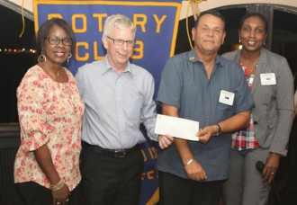 Scotiabank Sponsors Rotary Spelling Bee Competition.