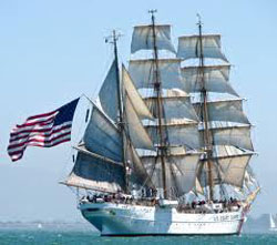 Public Invited to Open House On-board USCG Eagle this Saturday.