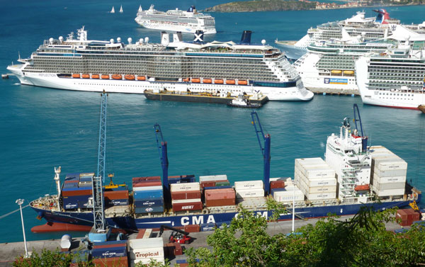 Attractive Cargo And Cruise Area.