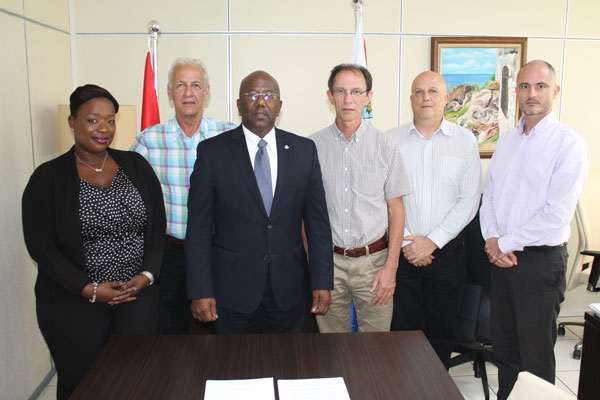 st martin news network prime minister marlin held discussions on edf for caribbean regional. Black Bedroom Furniture Sets. Home Design Ideas