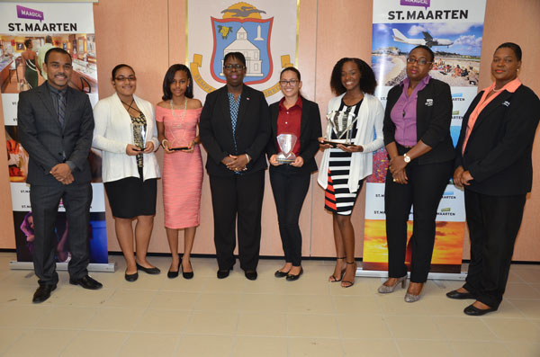 st martin news network youth tourism panel discussion winners receive their awards. Black Bedroom Furniture Sets. Home Design Ideas