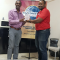 Yannick Hodge received Competentent Communicator Award.