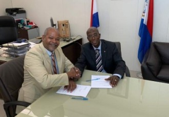 Minister of Justice signs agreement with VKS.