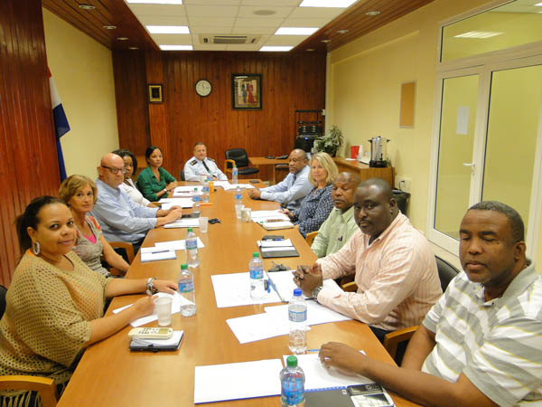Team Of Law Enforcement Agencies That Met To Discuss Spate Of Gun Related  Crimes.