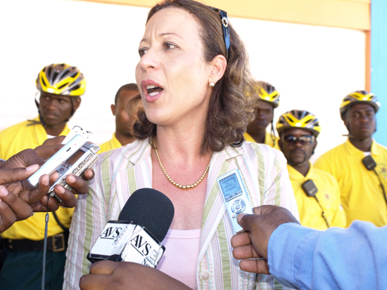 St  Martin News Network - BICYCLE PATROL LAUNCHED---PILOT PROJECT TO